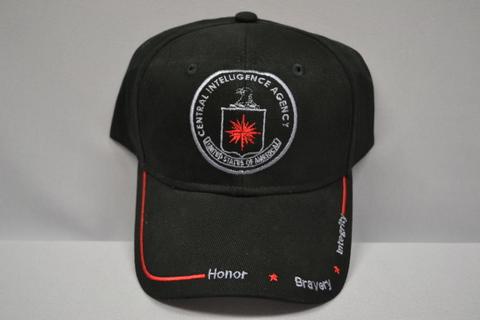 Hat Emb Blk Sil. Logo RD
