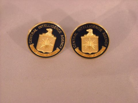 Cufflinks Logo Raised E&S N&G