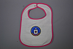 Bib Cav Logo 4Clr pink trim