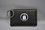 Badge Holder Lthr Logo