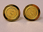 Cufflinks Logo Gold