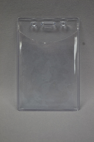 Badge Holder Soft Plastic