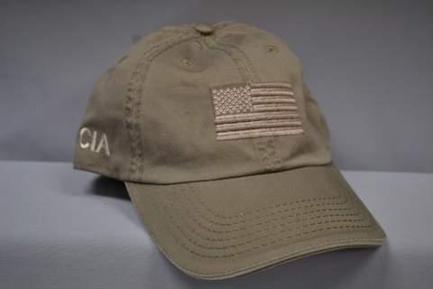 Hat Emb Flag Verb CIA Stone