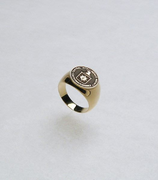Ring Logo Men 10K Gold 8