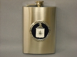 Flask Logo Pewter