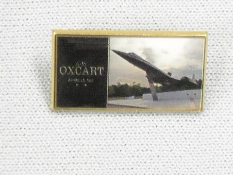Lapel Pin Oxcart Logo