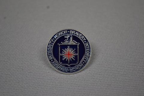 Lapel Pin logo HBI nvy bl/rd