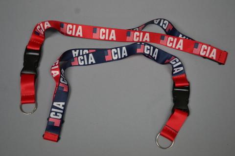 Lanyard Scrn CIA Rev Red/Bl