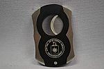 Cigar Cutter Eng Logo Blk/Sil