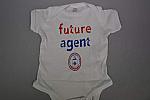 Onesie Scrn Logo Fut Agent Newborn