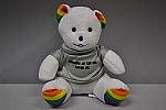 """Plush Bear Rainbow 6""""Loves U"""