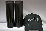 A-12 Hat & Tumbler