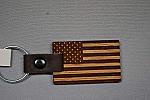 Keychain American Flag
