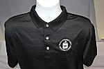 Golf Emb Logo Ventilated Bk 2X