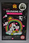 Colouring Set Unicorns Neon