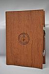 Journal Emb Logo Wood BN Ltr