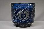 Candle Etch Logo Vanilla Blue