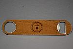 Bottle Opener Logo Wood
